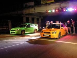 Уличные гонки в Москве